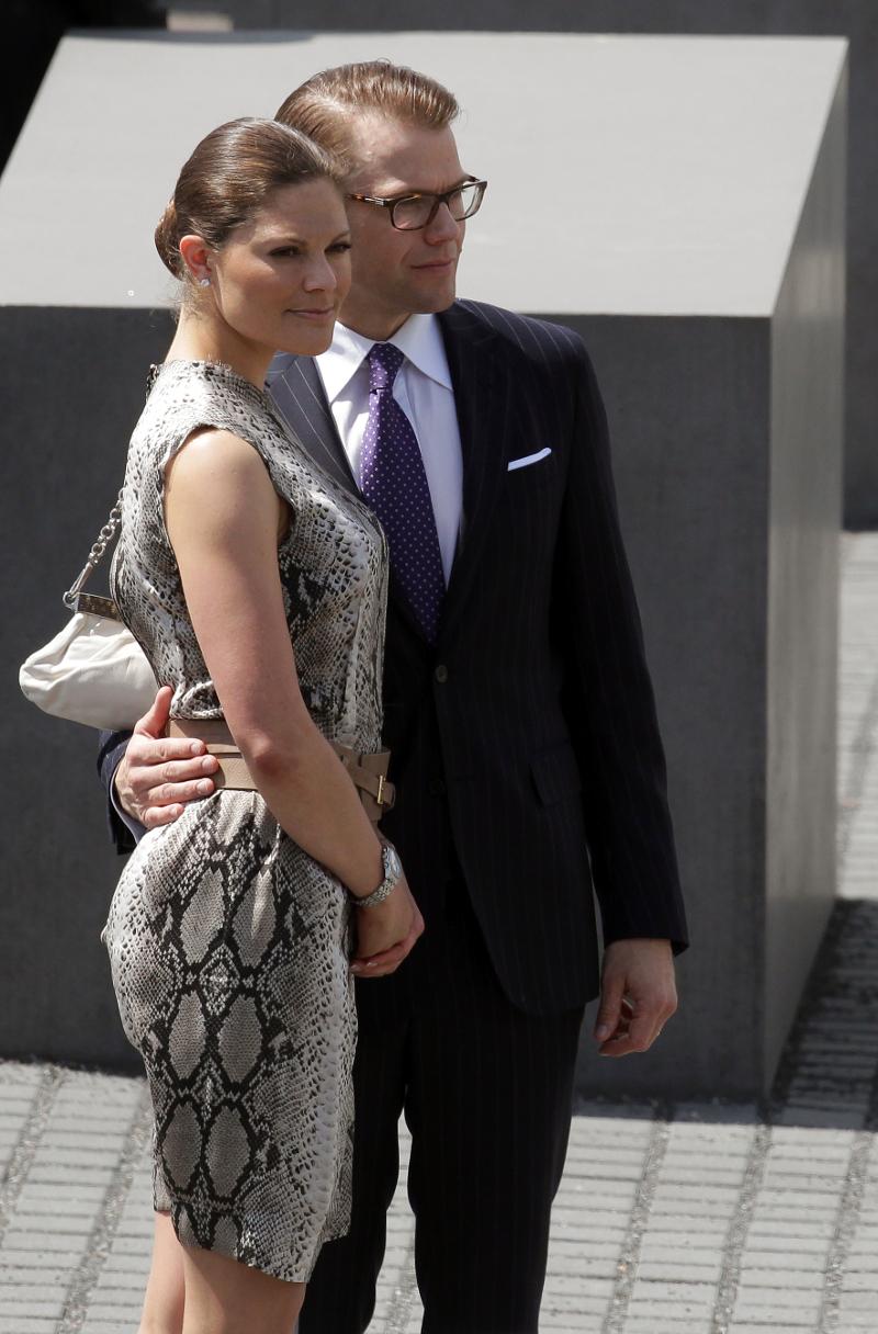 Η πριγκίπισσα Βικτόρια με τον σύζυγό της, Δανιήλ της Σουηδίας