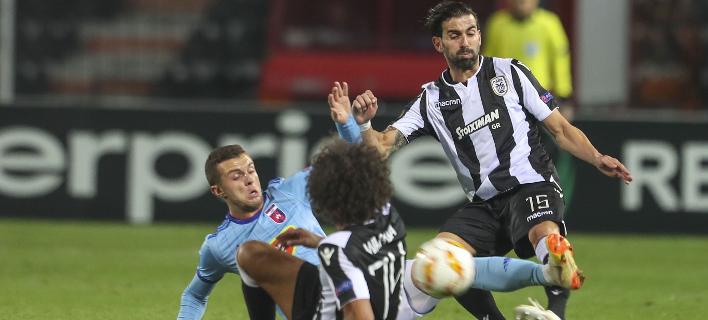Φάση από το ματς στην Τούμπα / Φωτογραφία: Eurokinissi