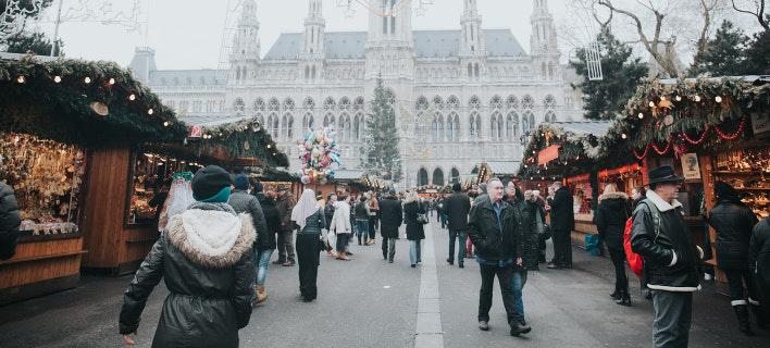 Χριστούγεννα στην Βιέννη (Φωτογραφία: Unsplash)