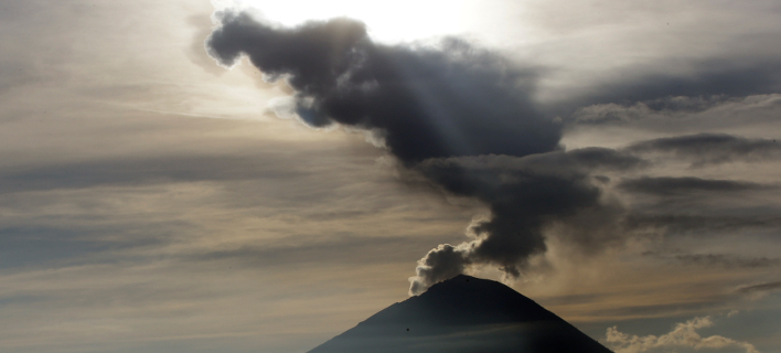 Το ηφαίστειο στο Μπαλί, Φωτογραφία: AP