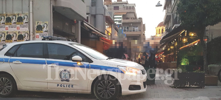 Η αστυνομία κατέγραψε το περιστατικό/ Φωτογραφία: thenewspaper