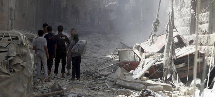 Σοκαριστικό βίντεο - Οι πρώτες επιθέσεις της Ρωσίας στη Συρία [εικόνες & βίντεο]