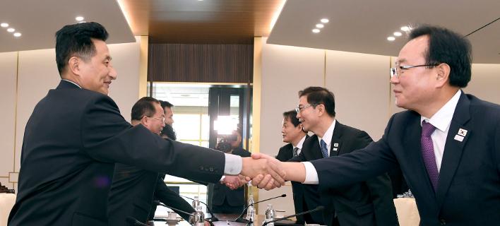 Συνομιλίες μεταξύ των δύο χωρών, Φωτογραφία: AP