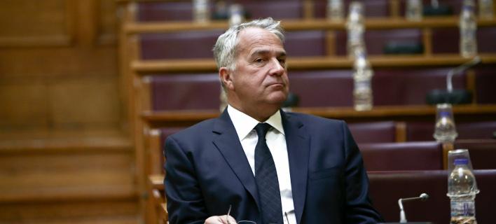 Ο Μάκης Βορίδης στη Βουλή / Φωτογραφία: Intimenews