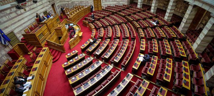 Βουλή /Φωτογραφία: Eurokinissi