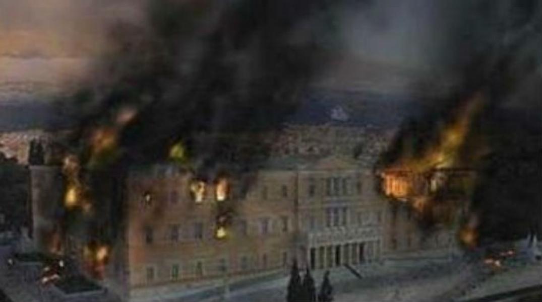 Αποτέλεσμα εικόνας για η βουλή καίγεται