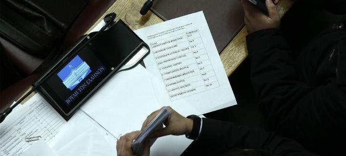 Κατά της διάρκεια της ψηφοφορίας στη Βουλή / Φωτογραφία: Intimenews/ΛΙΑΚΟΣ ΓΙΑΝΝΗΣ