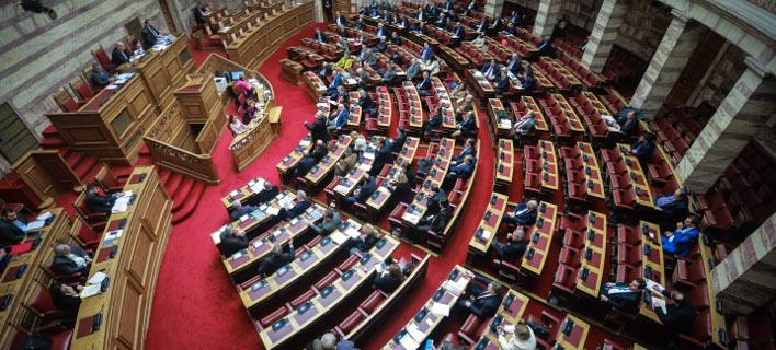 Την Πέμπτη η ψηφοφορία στη Βουλή/ Φωτογραφία: EUROKINISSI- ΓΙΩΡΓΟΣ ΚΟΝΤΑΡΙΝΗΣ
