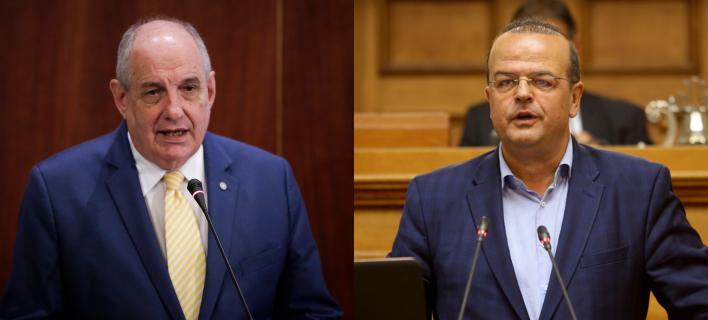 Τέρενς Κουίκ και Αλέξανδρος Τριανταφυλλίδης /Φωτογραφία: EUROKINISSI