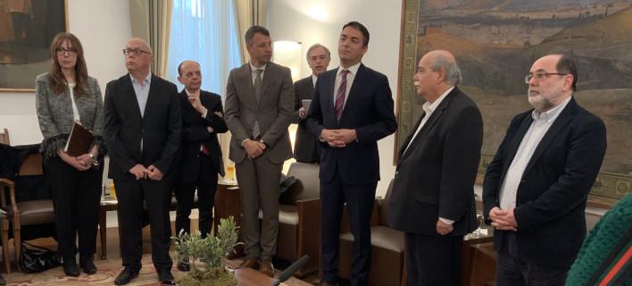 Βούτσης σε Ντιμιτρόφ: Διαμορφώθηκε ευρύτερη πλειοψηφία ανοχής για να ολοκληρωθεί η Συμφωνία των Πρεσπών