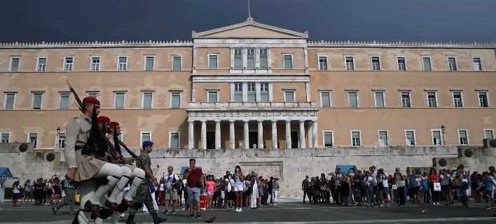 Το κτίριο της Βουλής/Φωτογραφία: ΑΡ