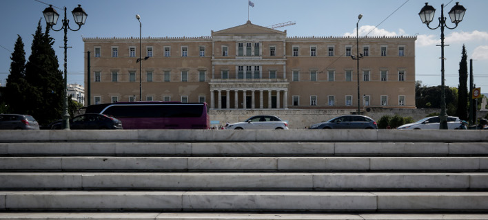 Το κτίριο της Βουλής-Φωτογραφία: Eurokinissi/Γιάννης Παναγόπουλος