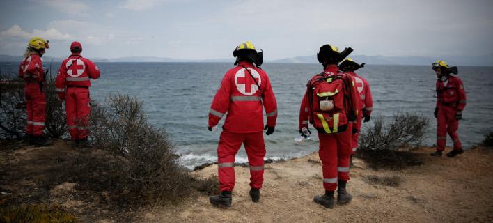 ψάχνοντας τους αγνοούμενους/Φωτογραφία: Eurokinissi/ΣΤΕΛΙΟΣ ΜΙΣΙΝΑΣ