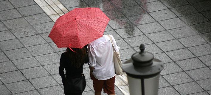 Βροχές και καταιγίδες σε όλη την χώρα/ Φωτογραφία eurokinissi