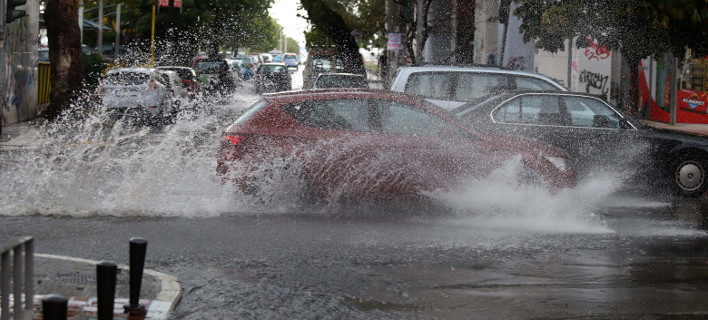 Βροχές το Σάββατο /Φωτογραφία eurokinissi