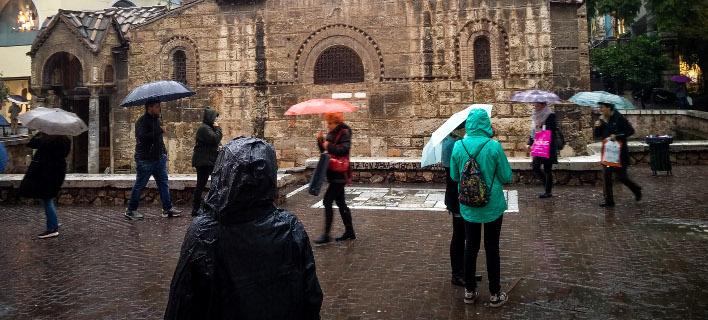 Βροχή, φωτογραφία: EUROKINISSI/ΑΝΤΩΝΗΣ ΝΙΚΟΛΟΠΟΥΛΟΣ