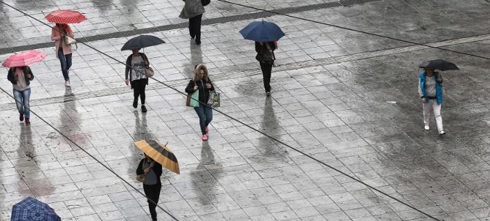 Βροχές και χιόνια τη Δευτέρα