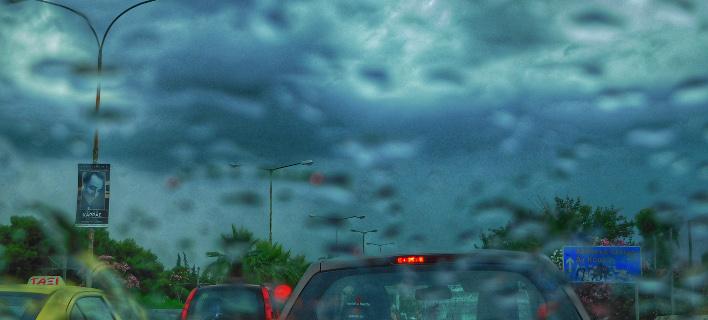 Βροχή/Φωτογραφία: Eurokinissi