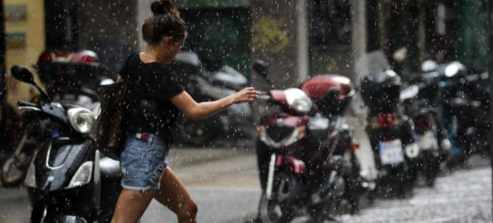καταιγίδα/Φωτογραφία: EUROKINISSI/ΓΙΑΝΝΗΣ ΠΑΝΑΓΟΠΟΥΛΟΣ