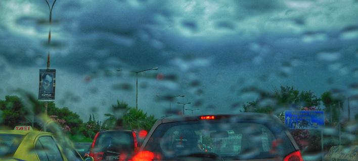 Βροχή στην Αθήνα/Φωτογραφία: Eurokinissi