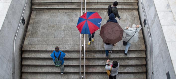 Βροχές και σκόνη το Σάββατο (Φωτογραφία: EUROKINISSI/ΛΥΔΙΑ ΣΙΩΡΗ)