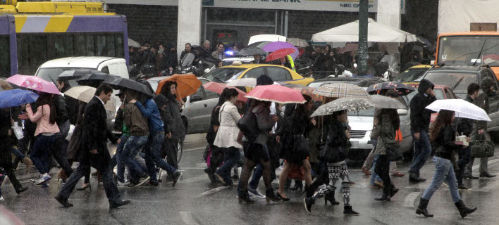 Βροχερή η εβδομάδα που έρχεται (Φωτογραφία: EUROKINISSI/ΓΙΩΡΓΟΣ ΚΟΝΤΑΡΙΝΗΣ)
