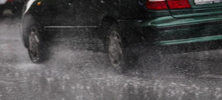 Εντονες βροχοπτώσεις στο Ηράκλειο/ Φωτογραφία αρχείου: EUROKINISSI- ΓΙΑΝΝΗΣ ΠΑΝΑΓΟΠΟΥΛΟΣ