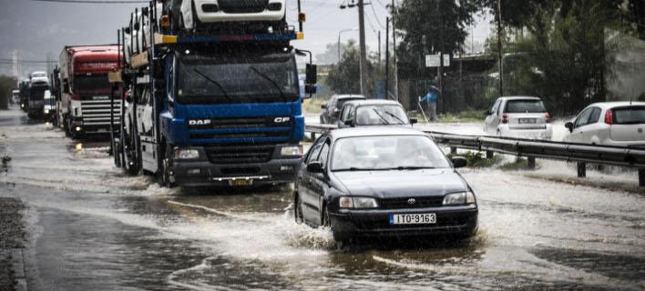 Συνεχίζεται η κακοκαιρία σε όλη την Ελλάδα (Φωτογραφία: EUROKINISSI/ ΑΝΤΩΝΗΣ ΝΙΚΟΛΟΠΟΥΛΟΣ)