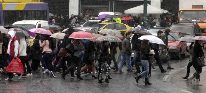 Ερχονται βροχές από τη Δευτέρα (Φωτογραφία: EUROKINISSI/ΓΙΩΡΓΟΣ ΚΟΝΤΑΡΙΝΗΣ)