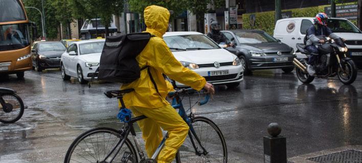 Βροχές την Τετάρτη/ Φωτογραφία: EUROKINISSI- ΛΥΔΙΑ ΣΙΩΡΗ