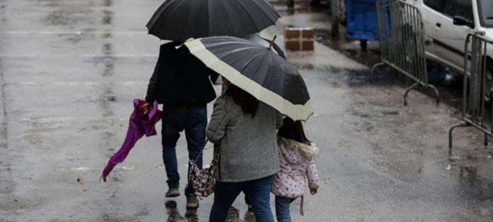 Βροχές, φωτογραφία: EUROKINISSI/ΣΤΕΛΙΟΣ ΜΙΣΙΝΑΣ