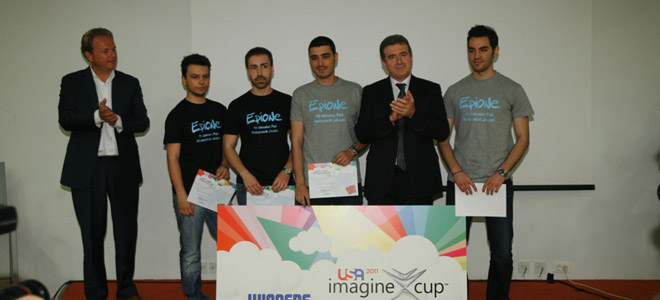 Imagine Cup: H iefimerida στον μεγάλο διαγωνισμό της Microsoft