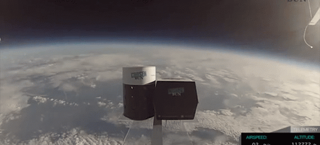 Μπέργκερ στο διάστημα έστειλαν ερευνητές του Χάρβαρντ [εικόνες]