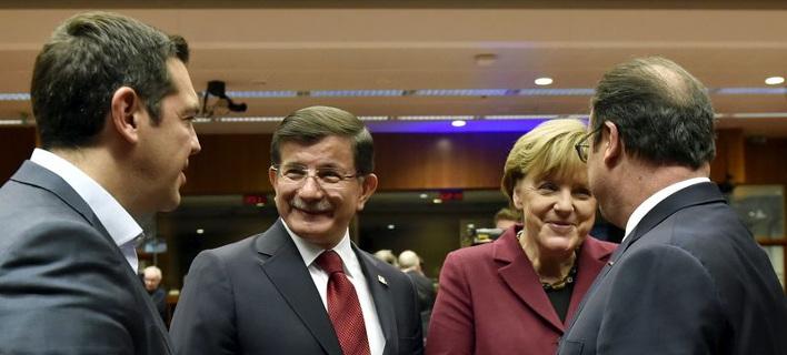 Πανηγυρίζουν οι Τούρκοι για τη συμφωνία με την Ευρώπη -Προκαλούν την Ελλάδα!