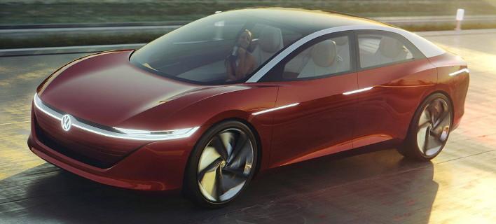 To I.D. Vizzion θα είναι το κορυφαίο ηλεκτρικό VW [εικόνες]