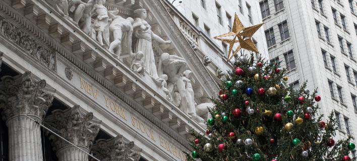 Το Χρηματιστήριο της Νέας Υόρκης/ Φωτογραφία: AP
