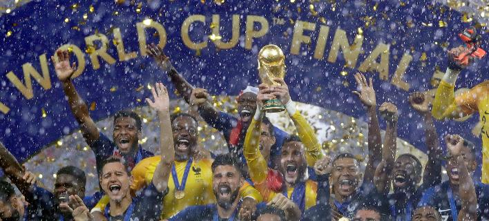 Η Γαλλία κατέκτησε το Παγκόσμιο Κύπελλο/Φωτογραφία: AP