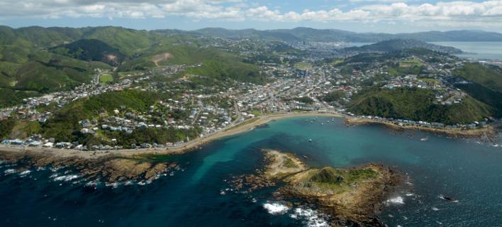 Η πρωτεύουσα της Νέας Ζηλανδίας, Γουέλινγκτον. Φωτογραφία: Shutterstock