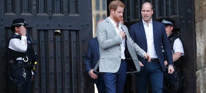Πρίγκιπας Γουίλιαμ και Χάρι- Φωτογραφία: AP