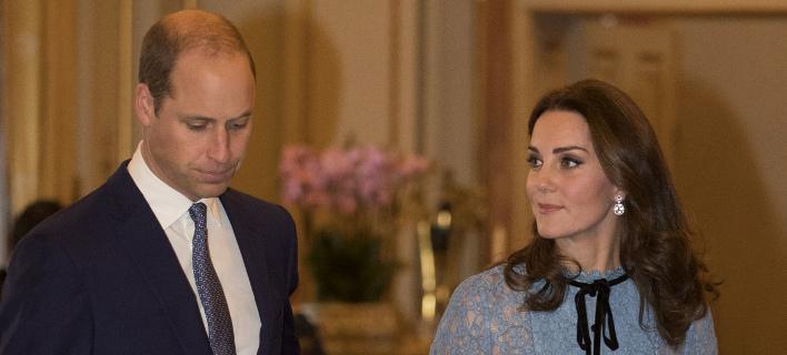 Τον Απρίλιο περιμένουν το τρίτο τους παιδί Κέιτ και πρίγκιπας Γουίλιαμ (Φωτογραφία: AP/ Heathcliff O'Malley)