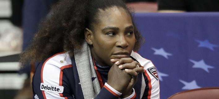 Η Σερένα Γουίλιαμς (Φωτογραφία: AP/ Chuck Burton)