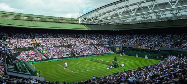 Το κεντρικό γήπεδο Wimbledon