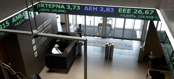 Το Χρηματιστήριο Αθηνών/ Φωτογραφία: Eurokinissi