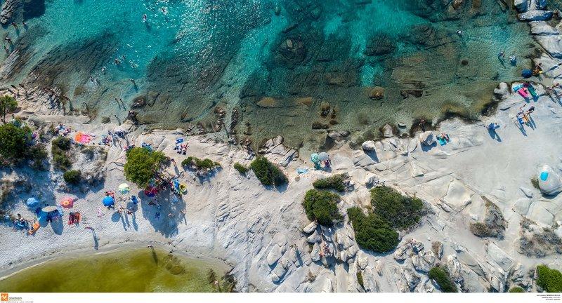 Παραλία στη Χαλκιδική