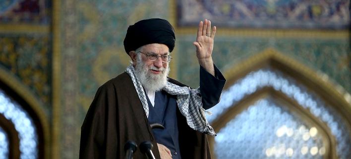 ο ανώτατος ηγέτης του Ιράν αγιατολάχ Αλί Χαμενεΐ/Φωτογραφία: AP