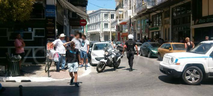 Σε ρινγκ μετατράπηκε το κέντρο της πόλης των Χανίων/ Φωτογραφία: zarpanews
