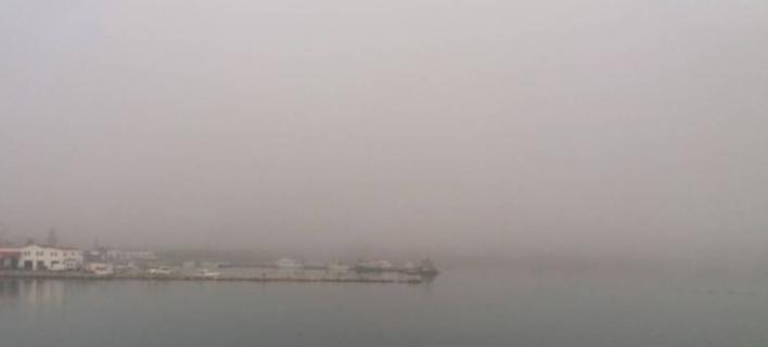 Φωτογραφία: haniotika-nea.gr- Αφρικάνικη σκόνη στην Κρήτη
