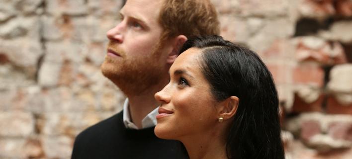 Η Μέγκαν Μαρκλ και ο πρίγκιπας Χάρι (Φωτογραφία: AP)