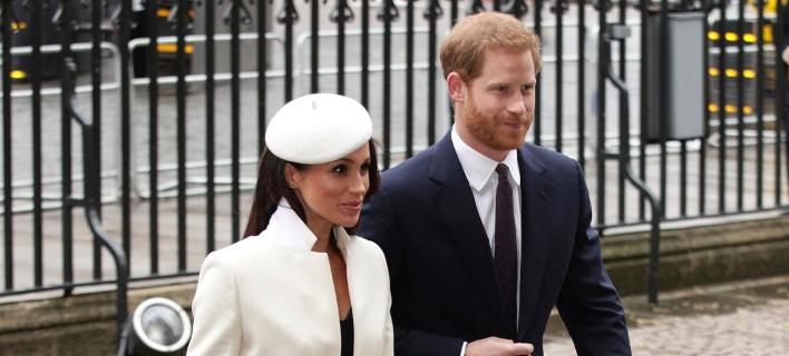 Μέγκαν Μαρκλ & πρίγκιπας Χάρι (Φωτογραφία: Yui Mok/PA via AP)