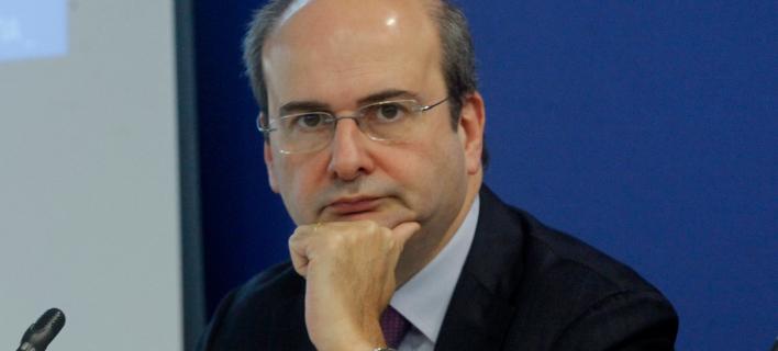 Ο αντιπρόεδρος της ΝΔ, Κωστής Χατζηδάκης. Φωτογραφία: Eurokinissi/ Χρήστος Μπόνης